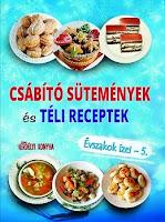 Megjelent új sorozatunk 5. kötete - Csábító sütemények és Téli receptek néven