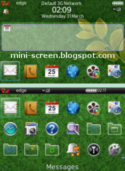 Free Beautiful Today Theme for Blackberry Interface