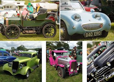 Vintage Nostalgia Show cars