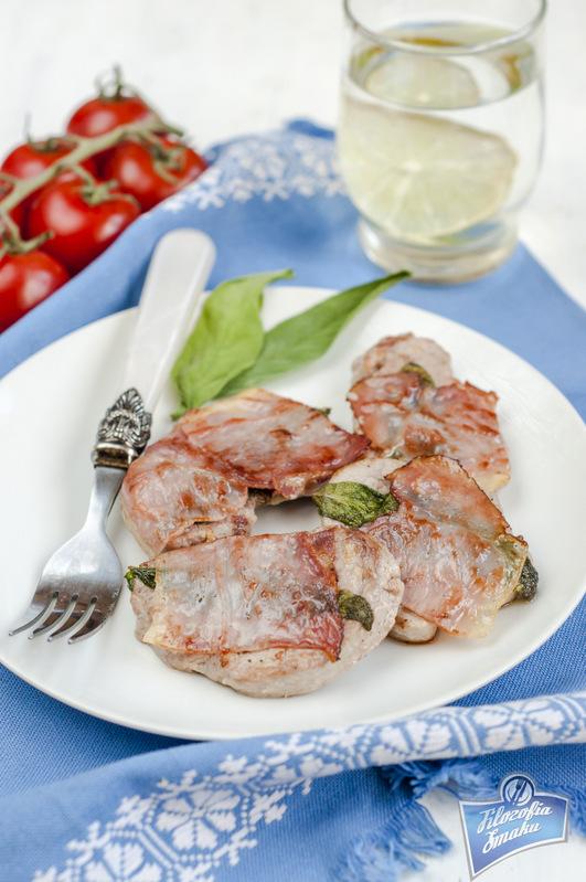 Saltimbocca z wieprzowiny przepis