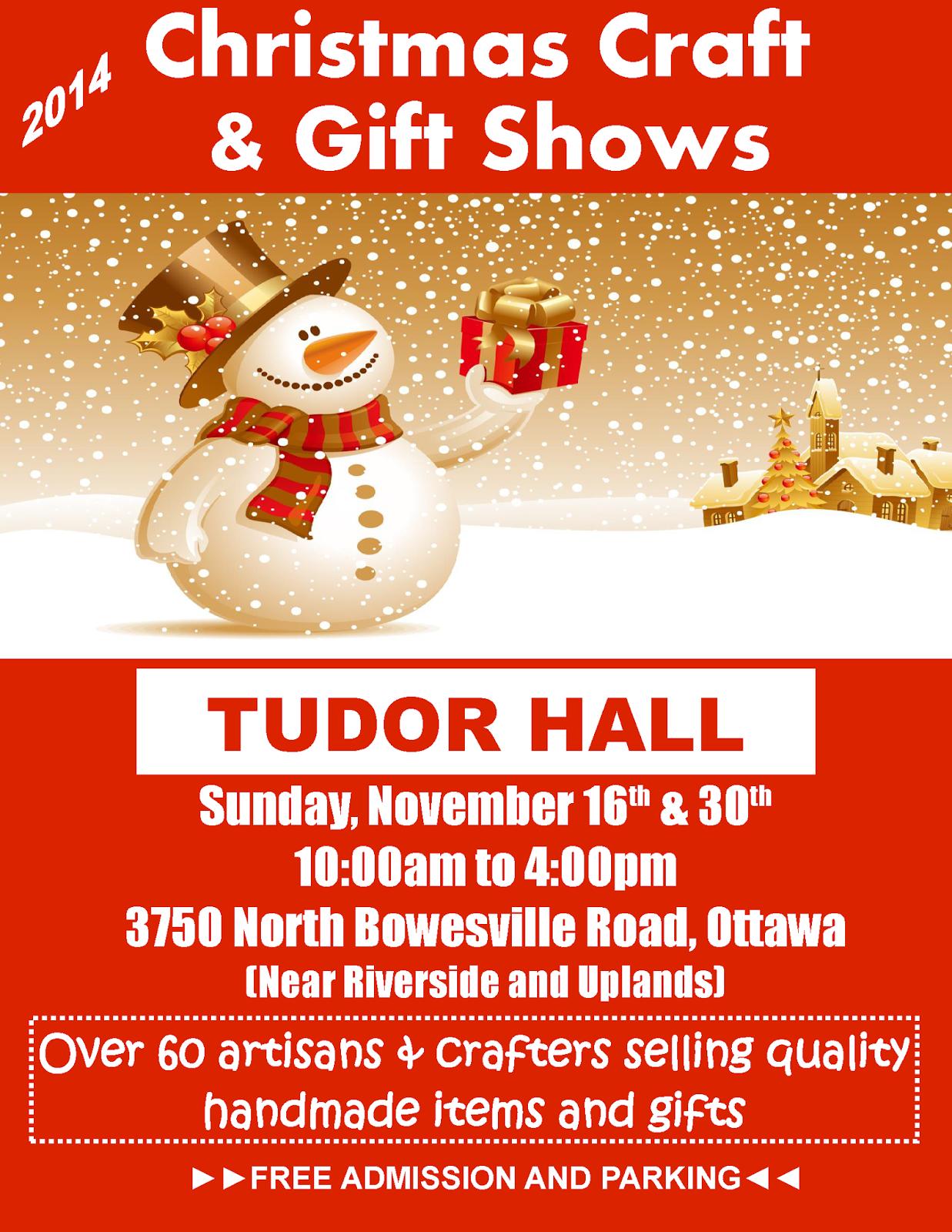 Ottawa Craft and Gift Shows: Christmas Shopping Extravaganza - Tudor ...