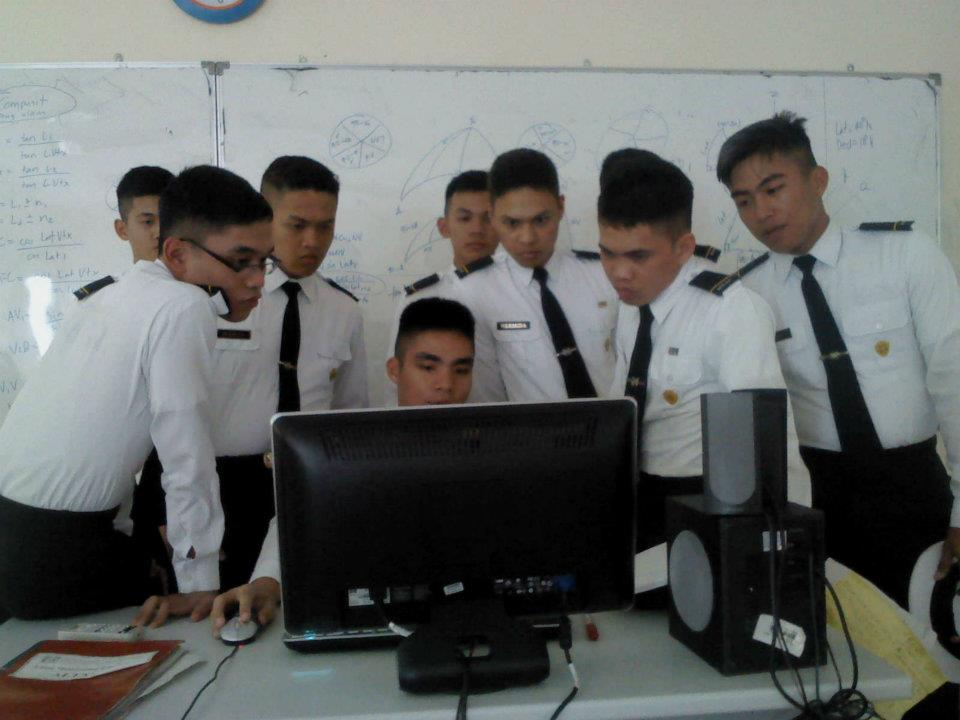 marine students