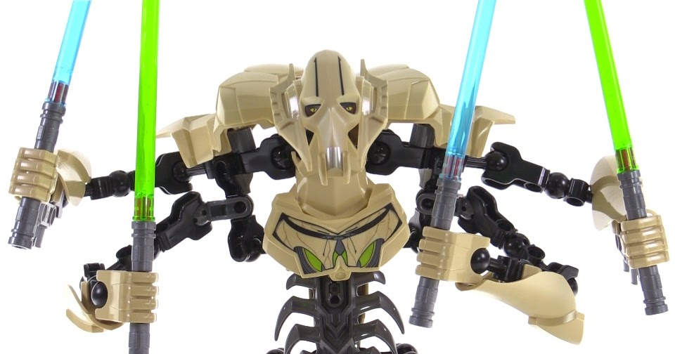 Star Wars General Grievous Toys : Lego star wars buildable general grievous review