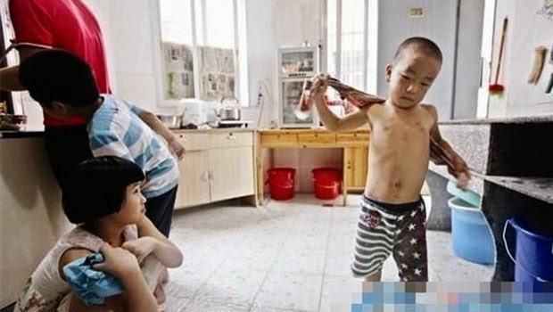 Anak ini Kabur Dari Rumah Karena Disiksa Oleh Ayahnya