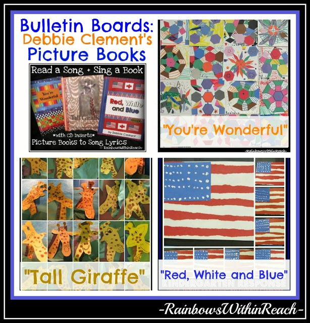 photo of: Kindergarten Bulletin Boards in Response to Picture Books by Debbie Clement