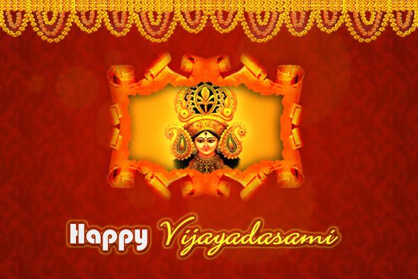 Happy Vijayadasami Festival Greetings For this Dasara