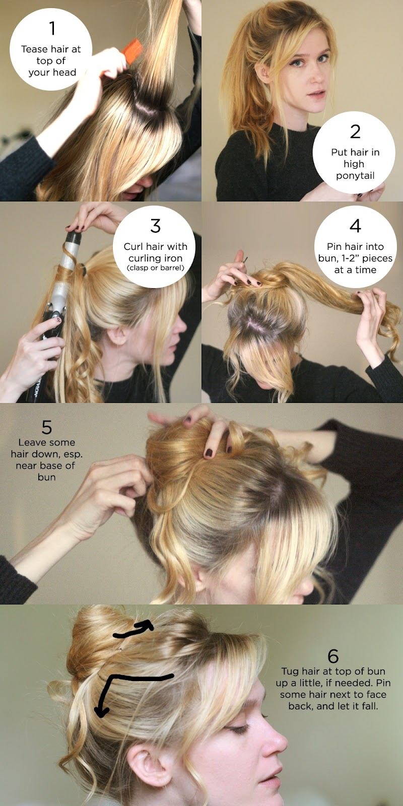 How to style a Messy bun tutorial