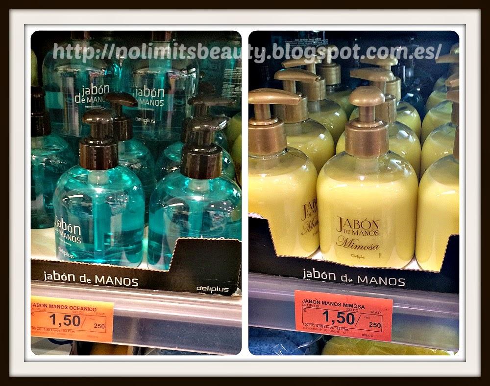 Jabón de manos Oceánico y Mimosa - Deliplús