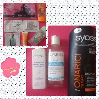 Cyrene - Syoss Şampuan - Cosmed ürün deneyimleri