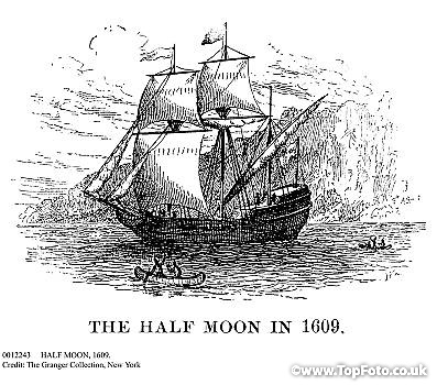 The Name Of Boat Henry Hudson Sailed Is Halve Maen Which Means Half Moon