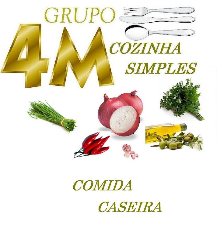 4M COZINHA SIMPLES, PRATOS SIMPLES E SABOROSOS