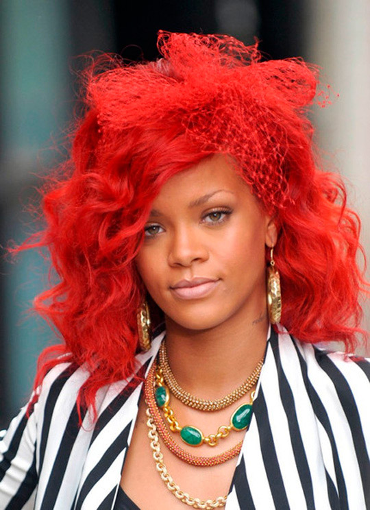 Stallone 2012 Rihanna S Man Down Hairstyles