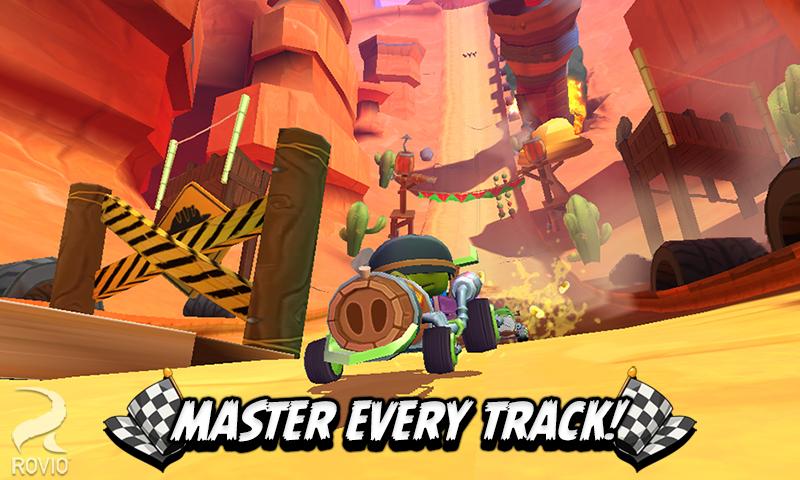 Serunya balapan kart dengan game Angry Birds GO! Download Apknya sekarang!