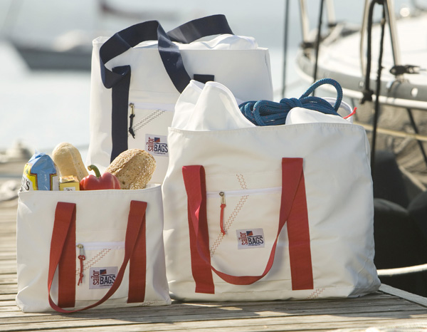 Sailcloth Tote Bags