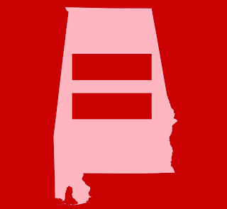 alabama map with equality bars