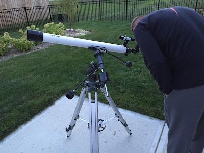 white meade 285 telescope