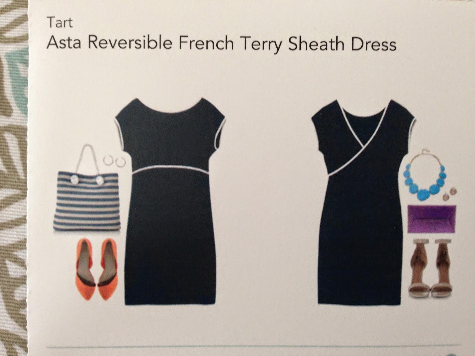 Stitchfix, Asta Reversable French Terry Sheath