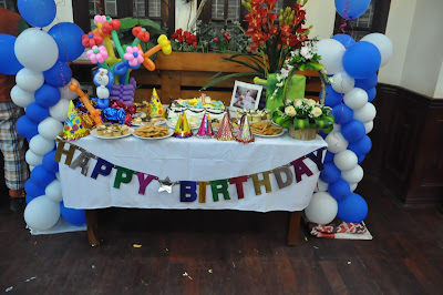 Tiệc sinh nhật tại nhà cho bé