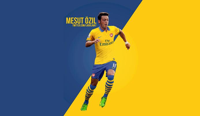 Mesut Ozil 2014 Wallpaper HD With Arsenal