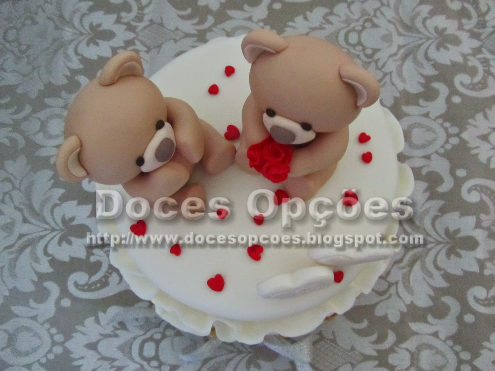 bolo ursinhos bragança