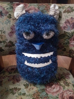Monsters Inc. Sulley Scarecrow