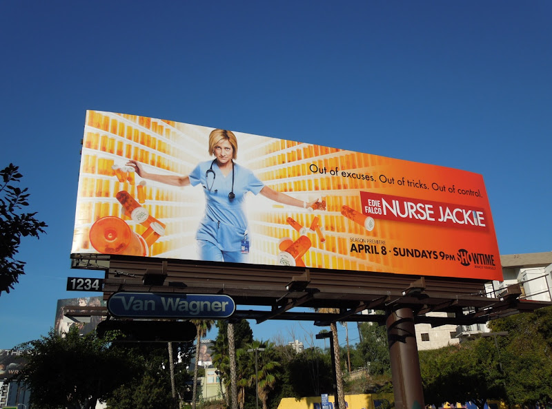 Nurse Jackie season 4 billboard