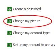 cara mengganti gambar identitas username di komputer