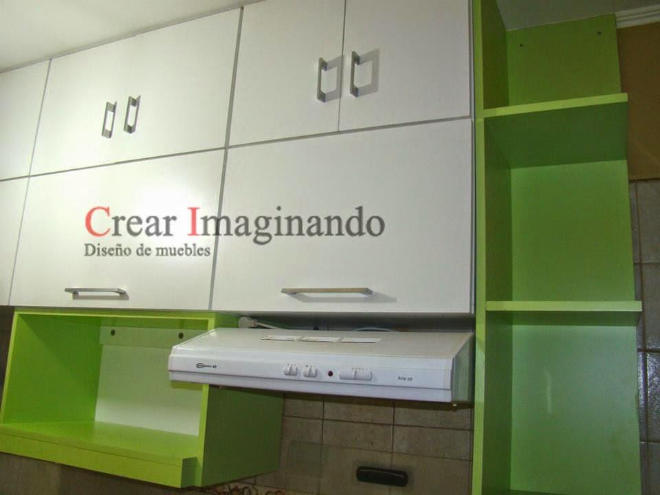Crear imaginando muebles para cocina for Severino muebles cocina alacena melamina blanca