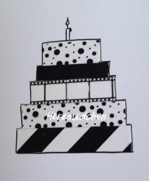 Herzmädchen Diy Geburtstagskarten