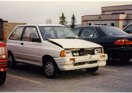 Our First Festiva After The Crash Back Was Similarly Modified