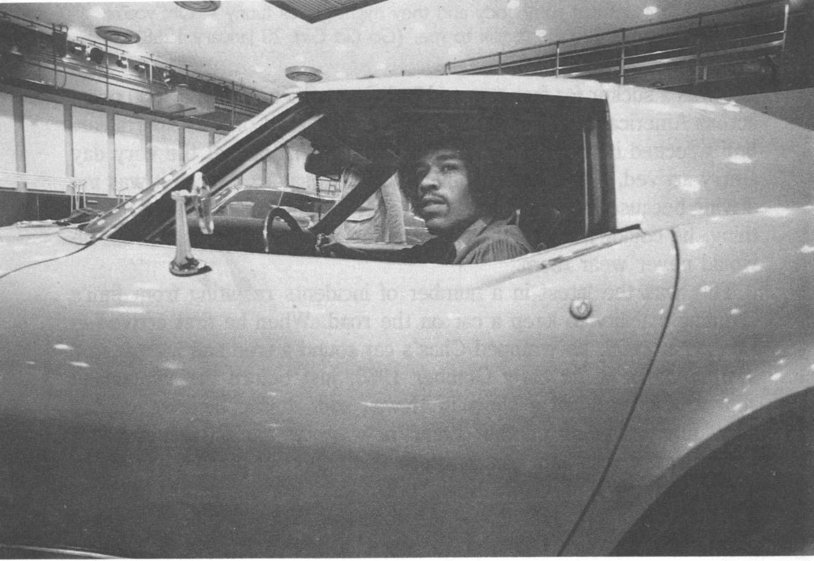 Lost Star Cars The Jimi Hendrix Corvettes Slight Reprise 1960 Pontiac Catalina Wiring Diagrams In A Corvette This Would Be His Replacement Ride Not First Car