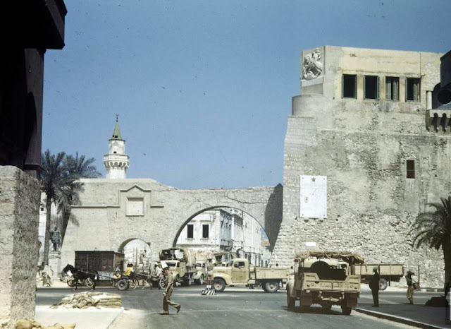 Tunisia and libya in the north african caign of world war ii 1943