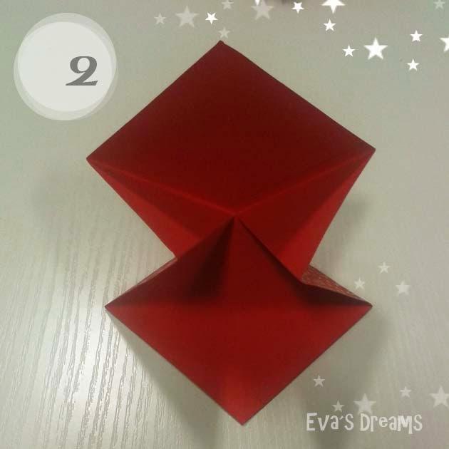 DIY: Origami Tannbaum 2.0 - Step2