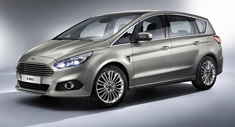 Sienna Hybrid >> All-New 2015 Ford S-MAX Seven-Seater Minivan