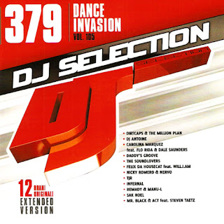 Capa do álbum Dj Selection 379 – Dance Invasion Vol. 105 (2013)