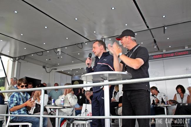 Norbert Kneer BMW Oldtimer Grand Prix 2013