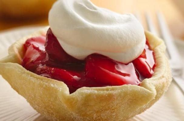 Quick and Easy Strawberry Tarts