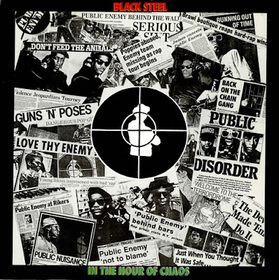 Public Enemy – Black Steel In The Hour Of Chaos (VLS) (1989) (192 kbps)