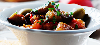 Caponata de berinjela light