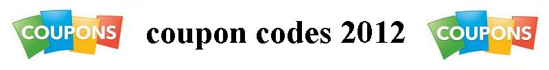 Coupon codes september 2012