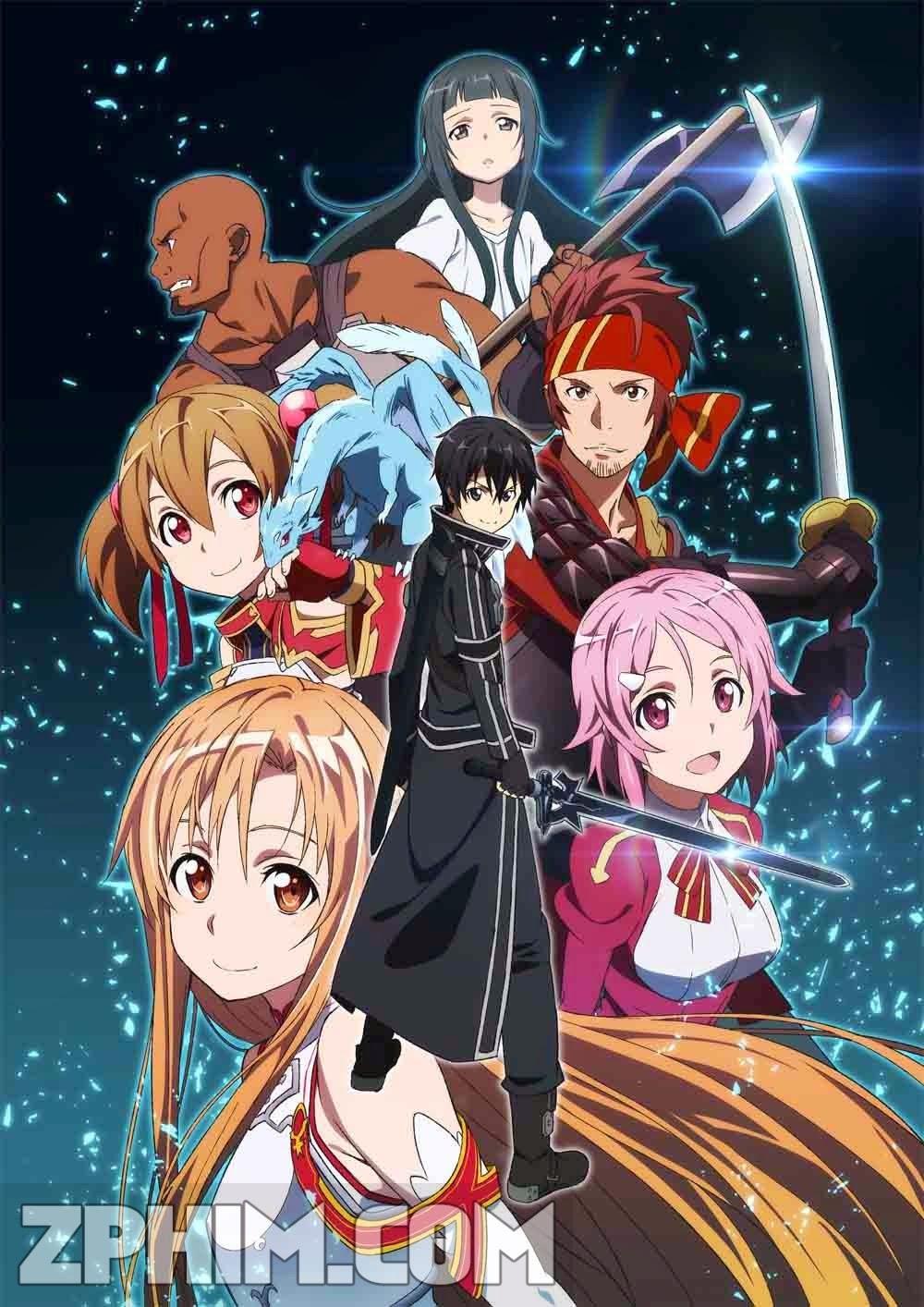 Đao Kiếm Thần Vực - Sword Art Online (2012) Poster