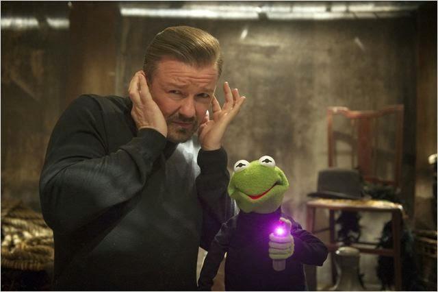 Ricky Gervais en  El Tour de los Muppets