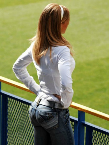 tight jeans and big tits and asses