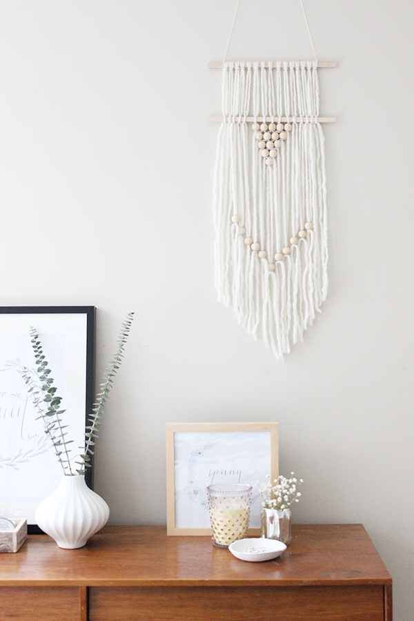 DIY Wall Hanging - Oh the Sweet Things