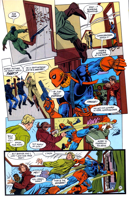 Deathstroke (1991) Issue #6 #11 - English 21