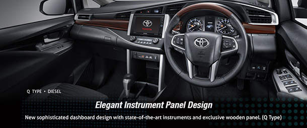 Elegant Panel Design Toyota All New Kijang Innova Terbaru