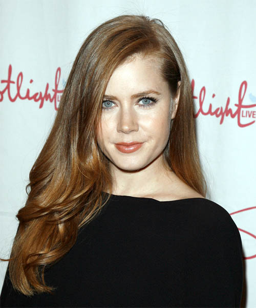 Amy Adams Long Hairstyle