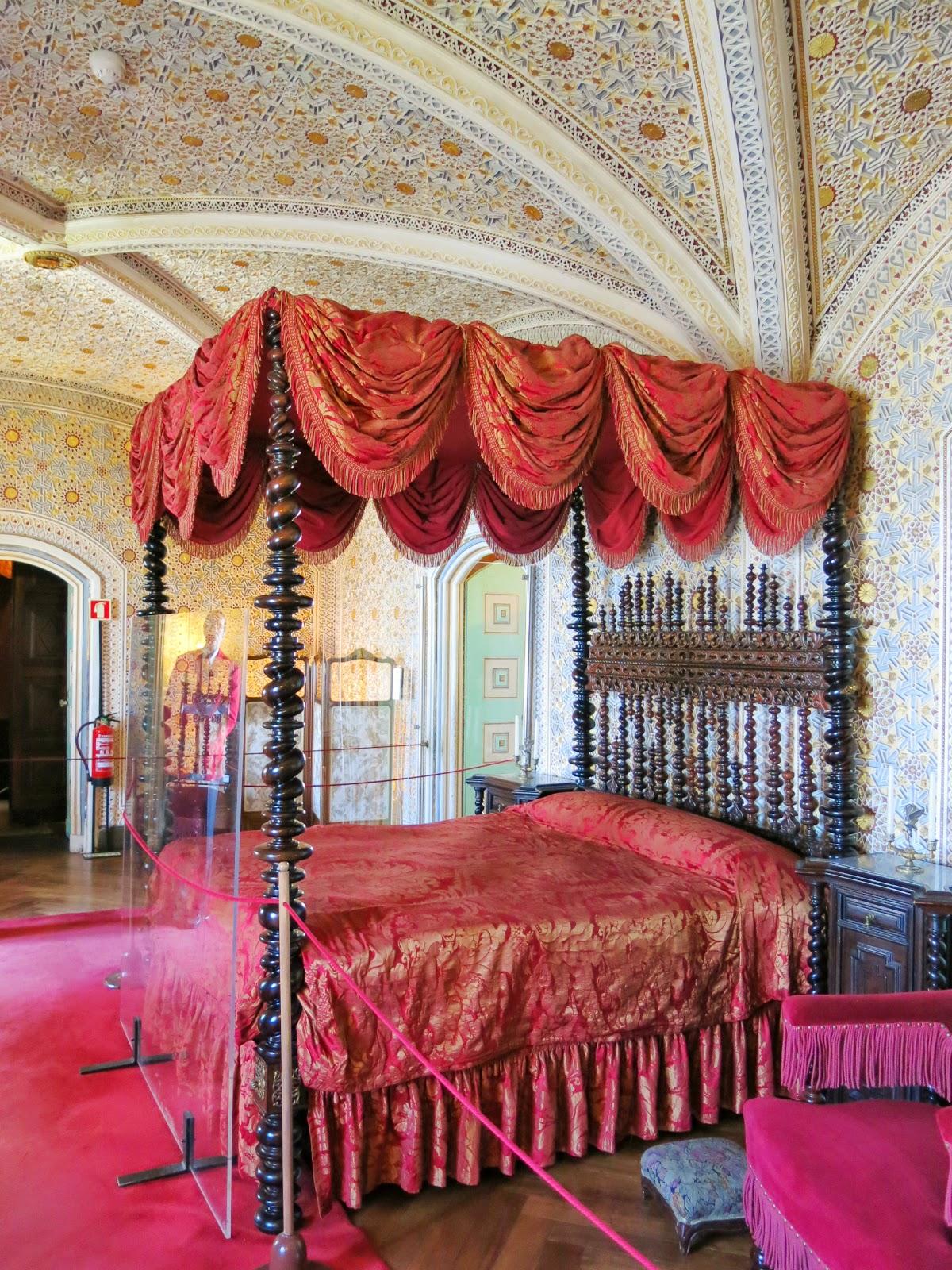 Insidan av Palácio Nacional da Pena