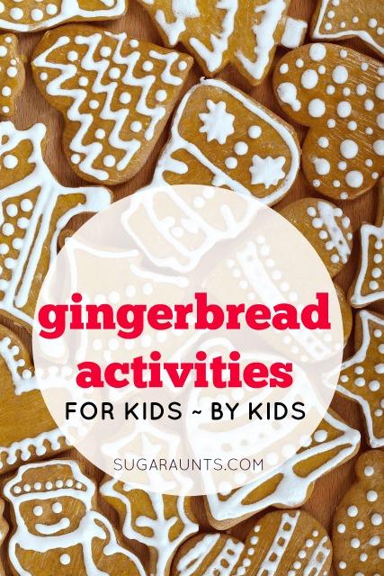 gingerbread activities for kids