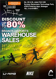 Branded Sports Warehouse Sales